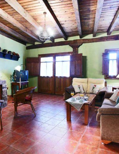 Sala de estar Casa Rural